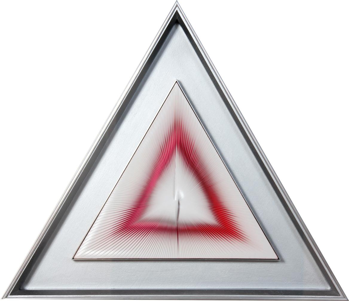 Alberto-Biasi_Dinamica-triangolare_1971_36x42x3,5cm