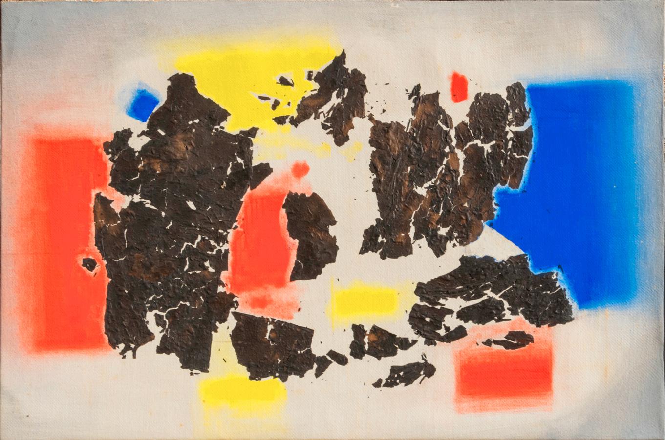 Bacci-Edmondo_Senza-Titolo_1972_tempera-e-carta-bruciata-su-tela_40x60cm