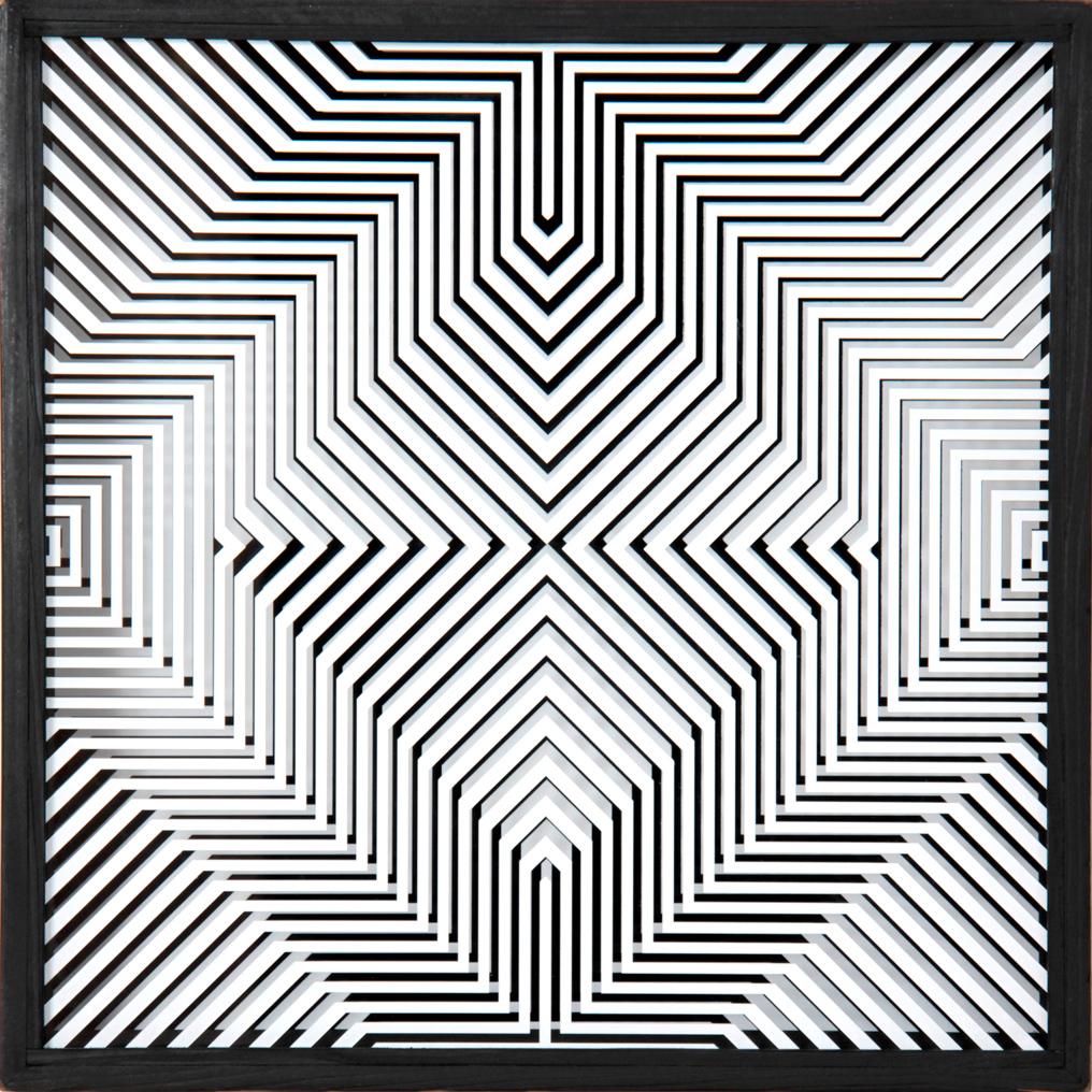 Ennio-Chiggio_Interferenza-lineare-14.5_1969_40x40x10