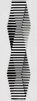 Francisco-Sobrino_Senza-Titolo_1985_154,5x39,5c