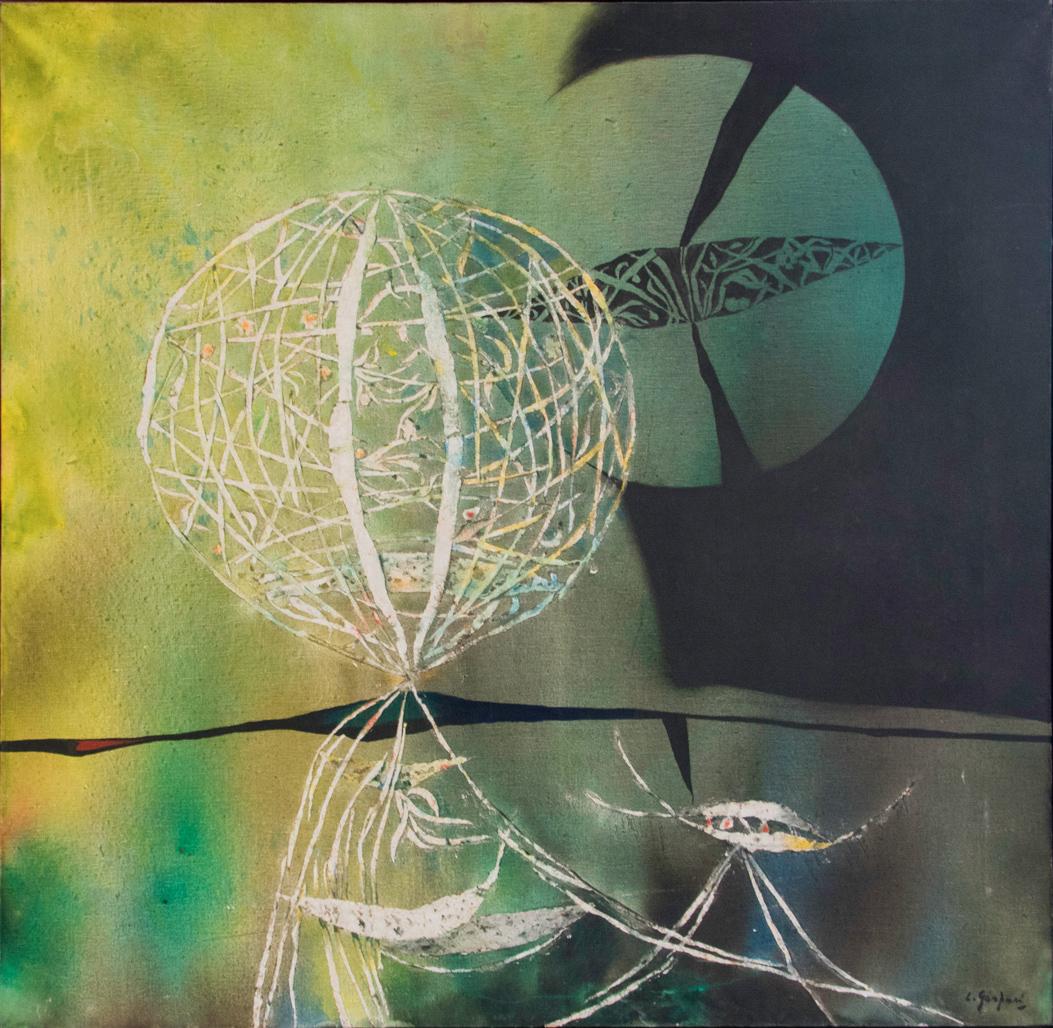 Gaspari-Luciano_Germinazione_1968_olio-su-tela_120x120cm