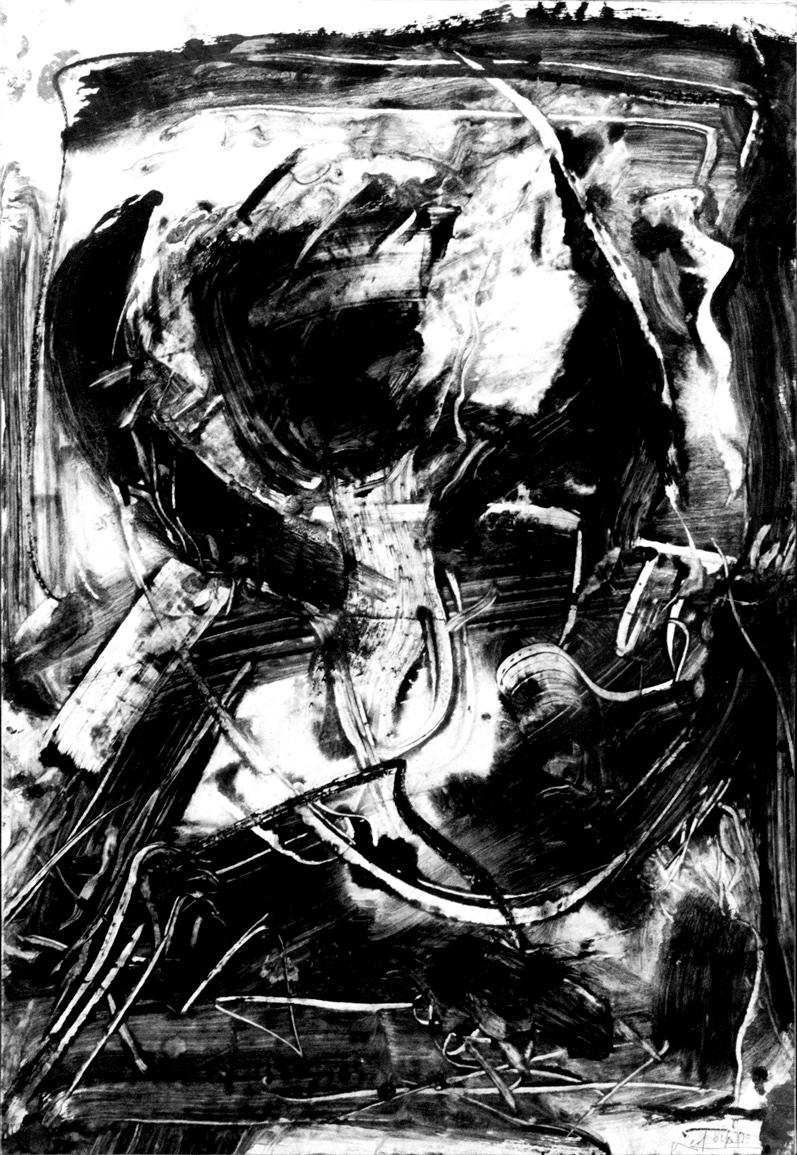 Vedova-Emilio_Oltre_1990_pittura-su-carta_73,5x50cm_1